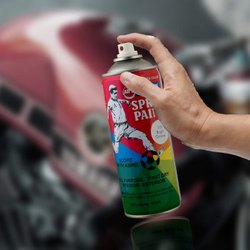 ABRO Paints - Aerosol Spray Paint, For Metal, Packaging Type: Can
