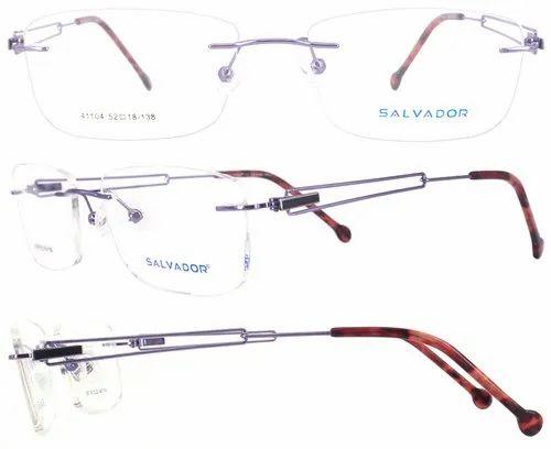 1c842e785f Salvador Durable Women s Rimless Eyewear-41104