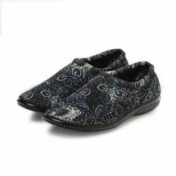 Zari Printed Blue Fully Covered Women Bellies