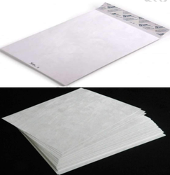 White Paper Tyvek Envelope, Capacity: 1000 Bundle, Square,Rectangle