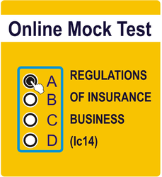 Online Mock Test For Regulations Of Insurance Business (IC-14) Jan-18  Edition Book