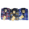 Mens Full Sleeves Check Regular Fit Shirt