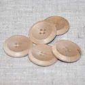 Cream Natural Button