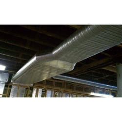 Spiral Oval Duct