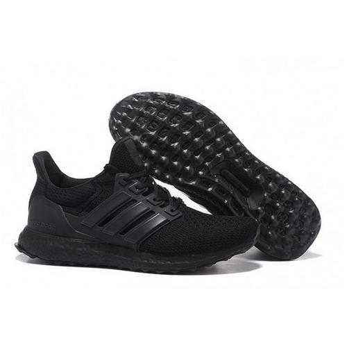 sports shoes e9878 f8d5c Adidas Ultra Boost Full Black Shoes