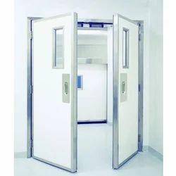 Pharmaceutical Steel Door, Thickness: 5 to 10 mm