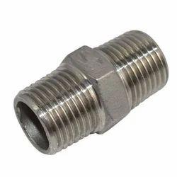 Stainless Steel Hex Nipple 316
