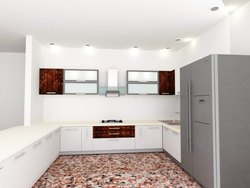 Kitchen 3D Interior Designing Service