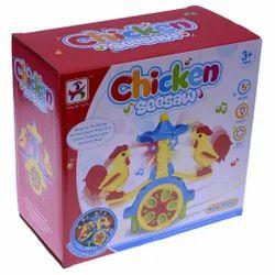 JK Multicolor Chicken Seesaw Toy