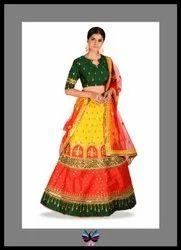 Pure Silk Traditional Look Lehenga Choli