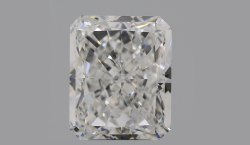 Radiant CVD Diamond 4.87ct F SI1 TYPE 2A IGI Certified