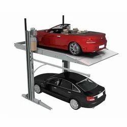 Tilted Car Parking Lift