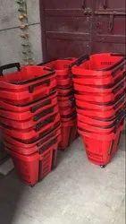 20 Kg Plastic Shopping Basket