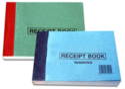 Printing of Receipt Books