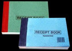 Custom Printing of Receipt Books