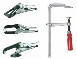 Squeeze Action Clamps