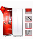 Aluminium Silver Roll Up Standee