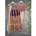 Satin Bridal Lehenga, Sizes: S To Xl