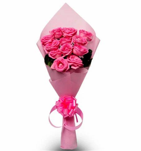 Pink Beauty Vl Flower Bunch Valentine Bunches Exzora The Flower
