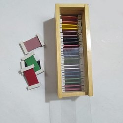 Color Learning Wooden Tablet