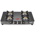 Pigeon Black Glass Cooktops Carbon