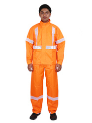 PVC Calisto Reflector Rain Suit
