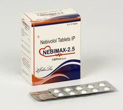 Nebivolol Hydrochloride 2.5 Mg and 5 Mg Tablets