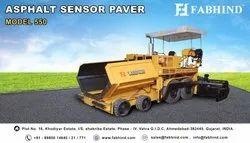185 Litre Hydrostatic Sensor Paver Finisher