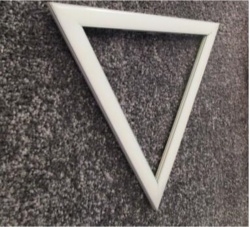 Triangle Wall Light