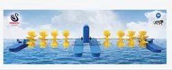 Power Saver Long Arm Aerator 2 HP 8 Paddle