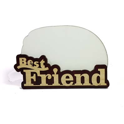 Best Friend Sublimation Wooden MDF Photo Frame at Rs 200 /piece ...