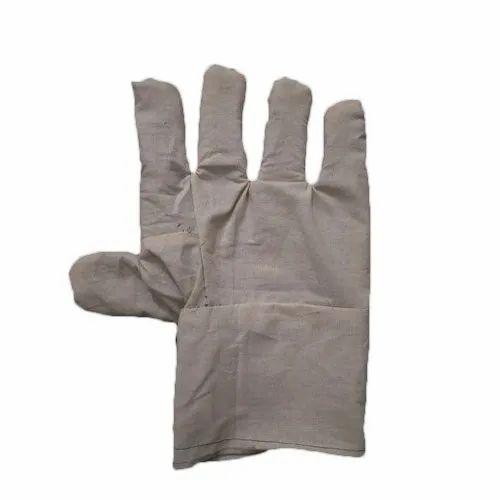 Radha Enterprises Full Finger Cotton Cloth Gloves, Size: 11 Inch