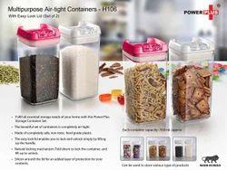 Power Plus Galvanized Steel Multipurpose Air Tight Containers