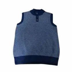 Hosiery Navy Mens Sleeveless T Shirt, Size: S-XXL