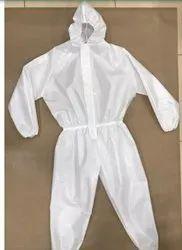 Polyester Taffeta Fabric For PPE Kit, Plain / Solids, White
