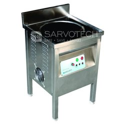 Stainless Steel Commercial Induction Kadai