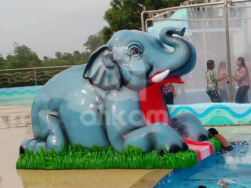 FRP Kids Elephant Slide