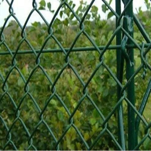 Pvc Coated Chain Link Fence For Agricultural Rs 160