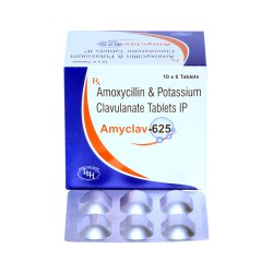 Amoxycillin 500mg With Potassium Clavulante 125mg Tablets