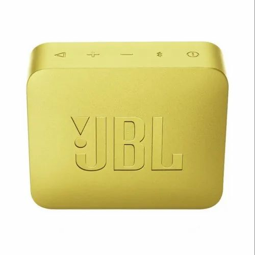 Yellow Jbl Go 2 Portable Waterproof Bluetooth Speaker With Mic Red Size Small Rs 2199 Piece Id 21492693797