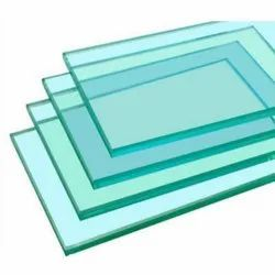 Transparent 12mm Toughened Glass, Shape: Rectangle