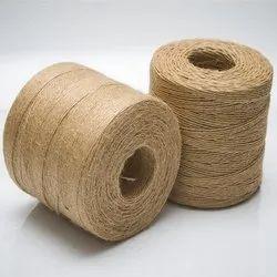 Natural Hand Spun Jute 2 Ply Yarn