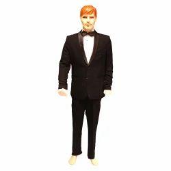 Party Wear Black Mens Tuxedo Suit
