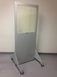 Lead Lined X-Ray Protection Screen 1.5mm With 8x10 Lead Glass