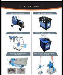 Construction Cutting/Bending Machines