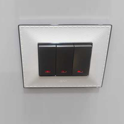 Black And White GM Electrical Switch