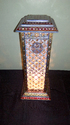 Marble Lamp With Gold Work