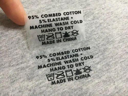 t shirt label machine shirt label manufacturer
