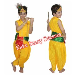 Kids Bal Krishna Costume