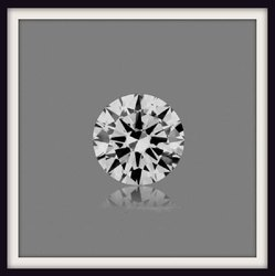 1ct CVD Lab Grown Diamond D VVS2 Round Brilliant Cut IGI certified